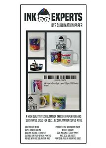 Style Mug Size (99x210mm) 120g Sublimation Heat Transfer Paper 500 Sheets