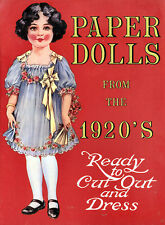 Paper Dolls from the 1920's Vintage Outfits 4 Dolls 12 Outfits