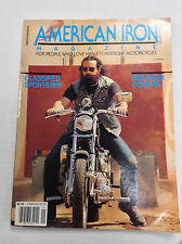 American Iron Magazine Classified Sportster & Red Rock January 1990 031017NONRH