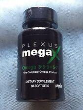 Plexus Slim Mega X Plant Based OMEGA Supplement 3-6-9-5-7 60 Softgels MegaX