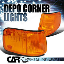 Fit Honda 88-89 CRX CR-X JDM Corner Lights Turn Signal Lamp Amber DEPO