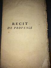 RECIT DE CE QUI S'EST PASSE AU PARLEMENT DE PROVENCE. 1771