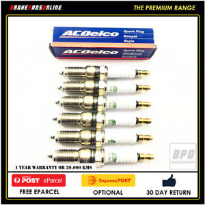 Spark Plug 6 Pack For Ford Territory SY 4.0L 6 CYL Barra 192 11/2005 41602