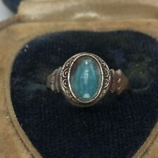 Vintage Sterling Silver Ring 925 Size 5 Adjustable Mary