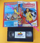 VHS film POCAHONTAS II Viaggio nel nuovo mondo 1999 WALT DISNEY (F155****)no dvd