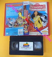 VHS film POCAHONTAS II Viaggio nel nuovo mondo 1999 WALT DISNEY (F155(6*)no dvd