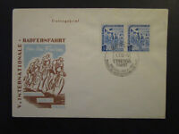 Germany DDR SC# 98 Pair on 1952 FDC / Cachated / Unaddressed - Z4504