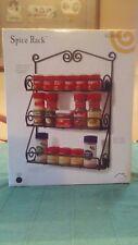 Spice Rack- Scroll, 3 tier