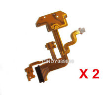 2Pcs New Flash Flex Cable Ribbon Part for Sony Camera DSC- H3 H10 NO  Tape