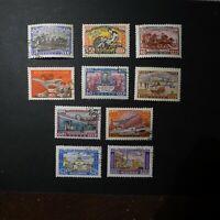 1958 Post centenary Sc 2095 -2116 Short set+ Vladimir 2108 -09 Full Russia USSR