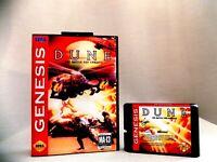 Dune The Battle For Arrakis Sega Genesis Mega Drive.