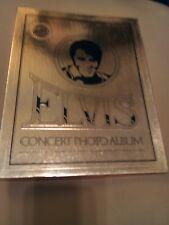 Elvis concert photo album 1977 with Coa