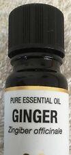 Ginger essential oil 10ml bottle