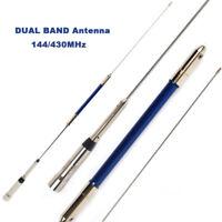 Dual Band UHF VHF 144/430MHz 150W Car Radio Mobile/Station Antenna 2.15/5.2dBi