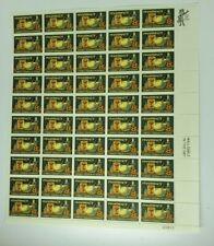 1972 Pharmacy 8 Cent Sheet of 50 Mint