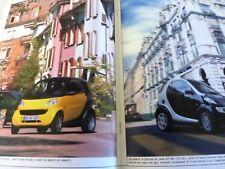 SMART city coupé PUB  1998  27 pages couleur 19,5X29,5 cm bon etat