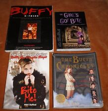 Lot of 4 Buffy the Vampire Slayer Unofficial Guides to the Show