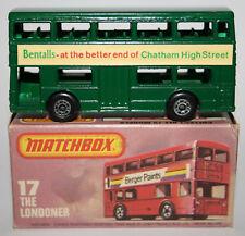 Matchbox Lesney Superfast Nr.17-B THE LONDONER Daimler Bus / Code 3