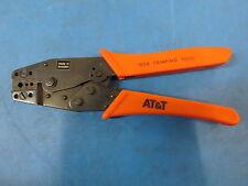 AT&T 102A Crimper Tool Fiber Optic Connector STII 2.4mm 3.0mm Cable Jackets