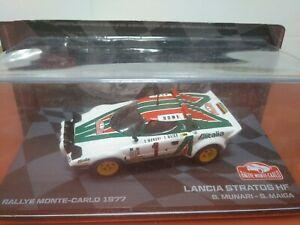 COCHE 1/43, ALTAYA, MODELO LANCIA STRATOS HF RALLYE MONTE CARLO 1977.