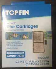 Top Fin Element Filter Cartridge, 1pkg of 6 filters!