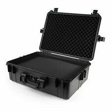 "Tactical 22"" Weatherproof Gun Firearm Camera Case with Pelican 1520 Style Foam"