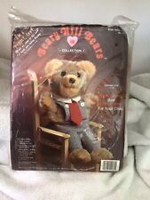 1984 Beary Hill Bears Collection Bear Puppet Kit By Sharon Carter