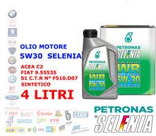 OLIO MOTORE AUTO DIESEL SELENIA WR 5W30 4 LT ACEA C2 SINTETICO 9.55535