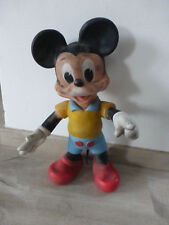 ancienne figurine plastique Mickey walt disney productions 1962 pouet vintage