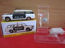 DINKY TOYS ATLAS 1429 BREAK PEUGEOT 404 POLICE