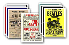 BEATLES  - 10 promotional posters - collectable postcard set # 3