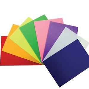A4 Felt Fabric Sheets for Arts and Crafts Pack of 1030 x 22cm