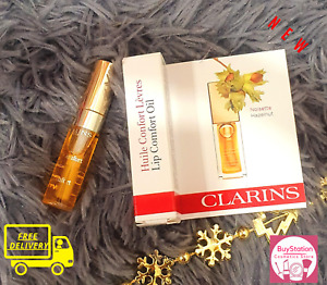 Clarins Eclat Minute Instant Light Lip Comfort Oil  01 Honey 2.8ml  * BRAND NEW*