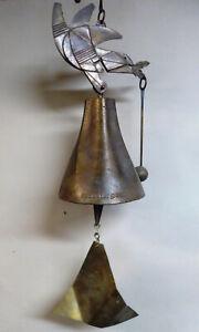 Vintage, PAOLO SOLERI ARCOSANTI COSANTI BRONZE Space For Peace Wind bell.
