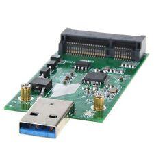 Usb 3.0 Para Mini Pcie Msata Ssd Exteriores Msata A Usb 3.0 Ssd Convertidor Adaptador