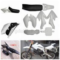 White 50cc 110cc 125cc 140cc Plastic 4-Stroke CRF50 Pit Bike Set Mudguard