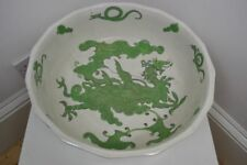 Antique Original Green Pottery Bowls