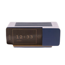 Areaware Alarm Clock Dock Blue Contemporary Style Designed by Jonas Damon