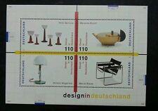 Germany Design 1998 Chair Lamp Tooling Intelligent Advance (miniature sheet) MNH