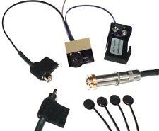 K&K Sound Pure Classic 4 Sensor Guitar Pickup w/Pre-Phase Soundhole Preamp, GOLD