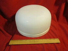 Progress LIghting White Frosted Dome Light Single Bulb Fixture