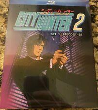 City Hunter 2 Set 1 Blu Ray Episodes 1-38 Official Discotek Anime