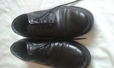 MENS ROBERTO GIOVANNI BLACK LACE UP SHOES SIZE 9