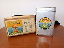 Vintage-Primus-71L-Camping-Backpk-Stove-Brass-Finish-Original-Box-Paperwrk-Tools
