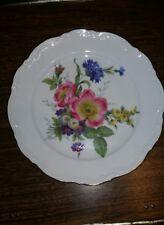 Bavaria Vintage Plate J.W.K 1950 floral design