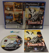 Console Game SONY Playstation 2 PS2 PAL ITALIANO - Tom Clancy's RAINBOW SIX 3 -