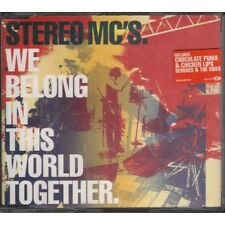 Stereo MC's ‎‎‎‎Cd'S We Belong In This World Together‎‎ Nuovo 0731458872825