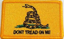 The Gadsden Flag Patch With VELCRO® Brand Fastener Military Emblem #91