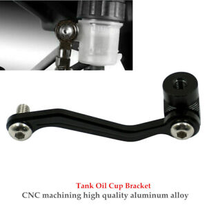 1PC Motorcycle Brake Clutch Master Cylinder Fluid Tank Oil Cup Bracket Holder