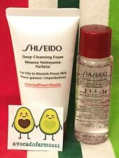 SHISEIDO DEEP Cleansing Foam 50 ml + Treatment Softener Normal Combo Oily 30 ml
